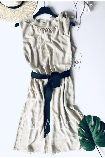 Šifonové elegantní šaty