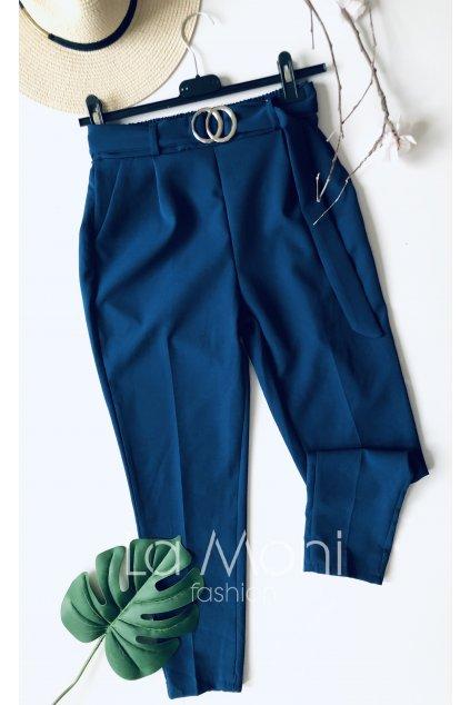 Elegantní kalhoty  s páskem