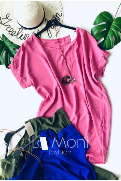 Oversize tunika- šaty netopýr