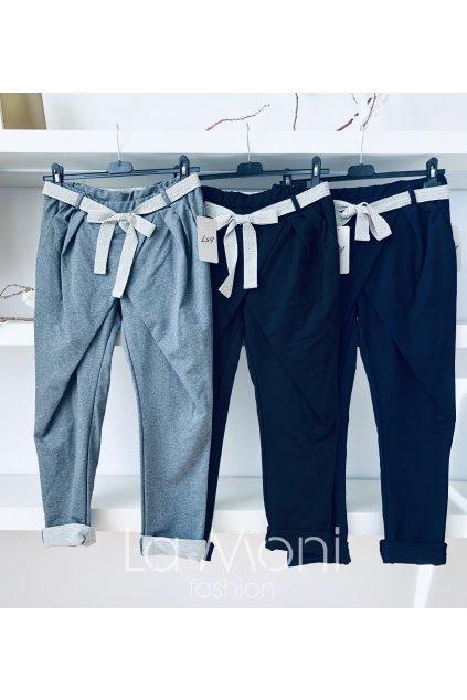 Teplákové elegantní kalhoty cool střihu