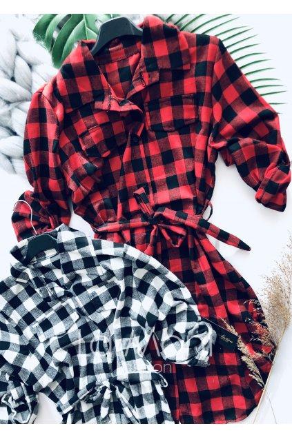 Kostková tunika, šaty, delší košile... HIT