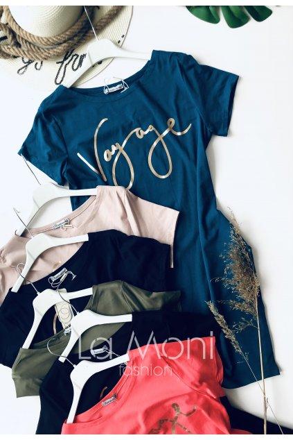 Úpletové šaty Vogue