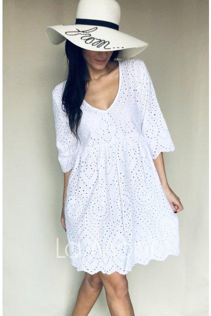 Roztomilé šaty madeira