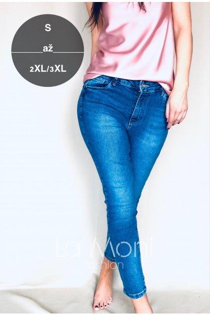 Strečové push-up džíny - i větší velikosti  s - 3xl