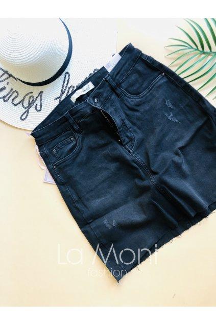 Střečová  džínová sukně