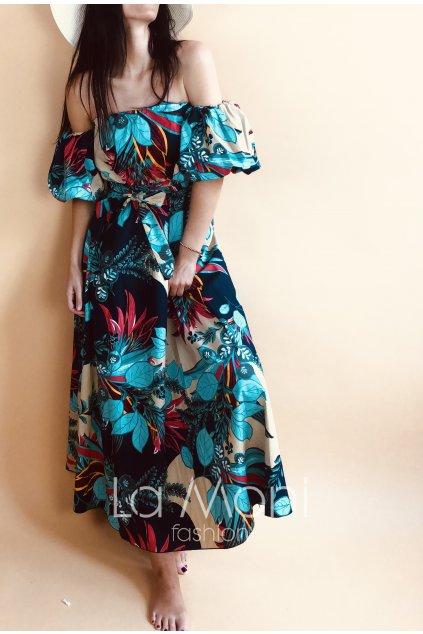 Luxusní dlouhé šaty
