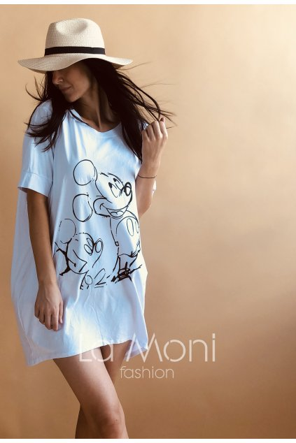 Mickey Mouse oversize tunika- šaty  L/XL