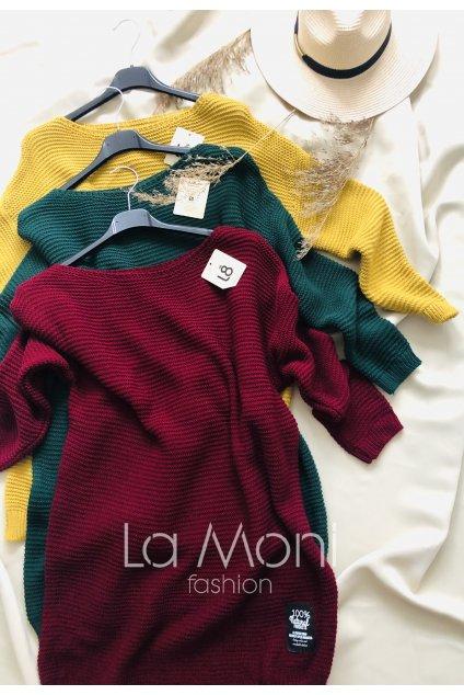 Dlouhý svetr  - tunika  - šaty