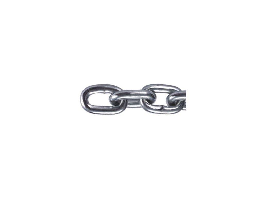 Řetěz nezkoušený - polodlouhý článek