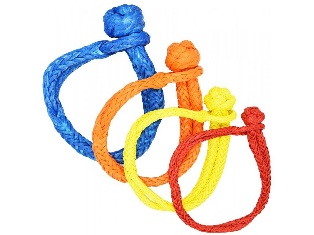 Soft šekl - modrý