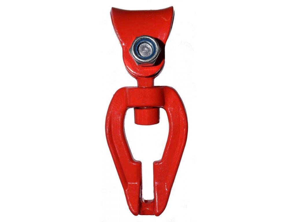 Kluzný třmen otočný oboustranný G10 pro řetěz Ø 8 mm
