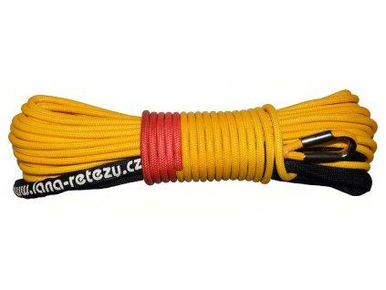 Syntetické lano pro naviják 6 mm - 20 m - dvojité