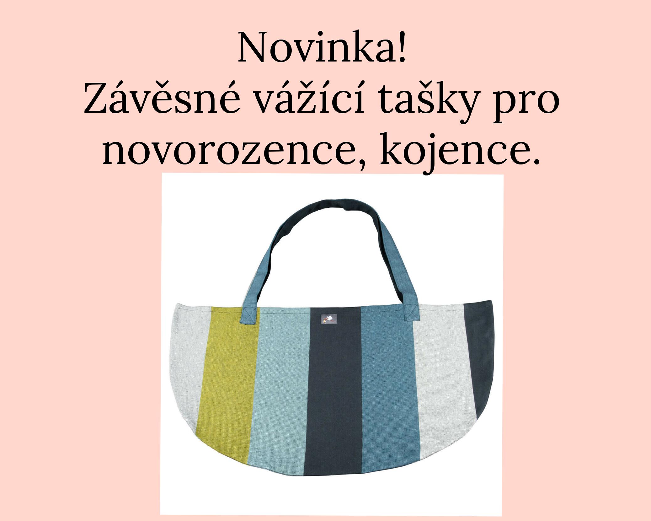 tašky pro novorozence, kojence