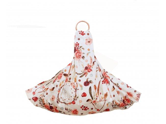 Závěsný šátek na vážení novorozence, kojence ANET