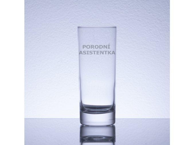 Por.as. sklenička