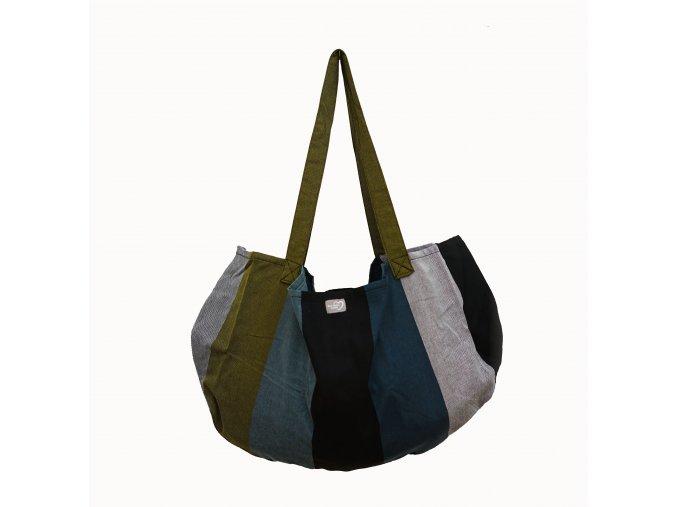 Tmavá závěsná taška/váha na vážení novorozence, kojence Hoppediz