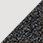 bílá / glitter černá