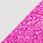 bílá / glitter růžová