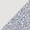 bílá / glitter stříbrná