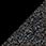 černá / glitter černá