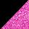 černá / glitter růžová