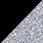 černá / glitter stříbrná
