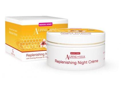 Alpine Silk Manuka Honey Replenishing Night Creme