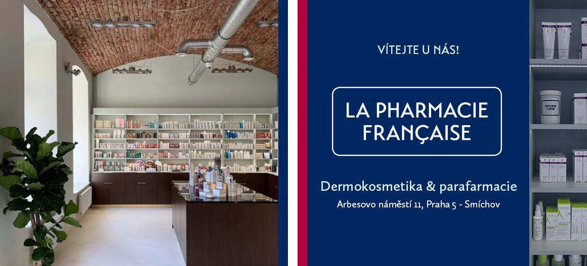 La Pharmacie Francaise - nově otevřeno