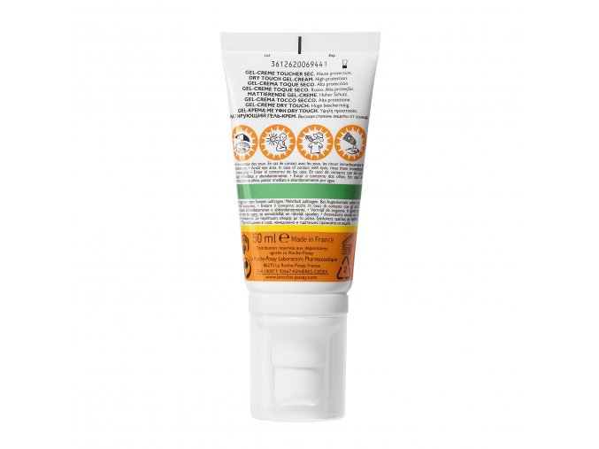 La Roche Posay Sunscreen Anthelios Clean Touch Gel Cream Spf50 50ml 000 3337875546430 Front