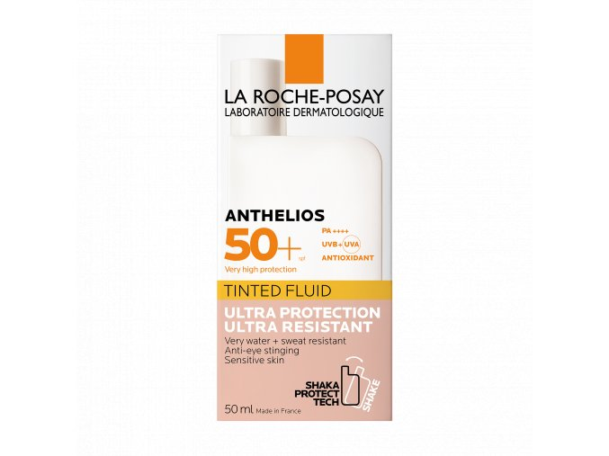 La Roche Posay Sunscreen LRP anthelios shaka fluid tinted spf 50 50ml 000 3337875706834 Front