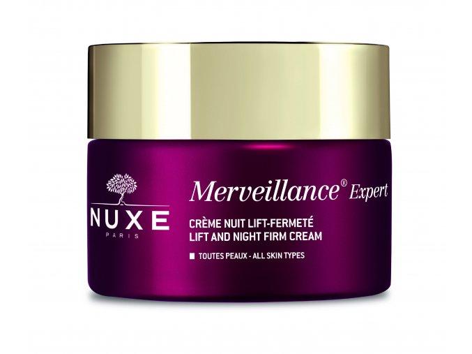 Nuxe Merveillence Expert Noční péče pro všechny typy pleti LIFTING & ZPEVNĚNÍ 50 ml (Velikost balení 50 ml)