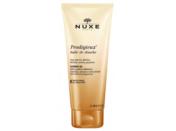 Nuxe Sprchový olej tuba 200ml (Velikost balení 200 ml)