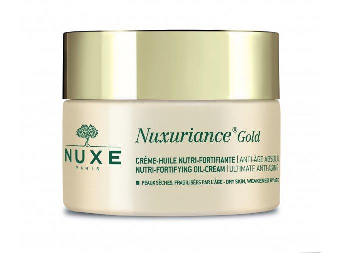 Nuxuriance Gold OIL CREAM Vyživující olejový krém se zpevňujícím účinkem 50ml (Velikost balení 50 ml)