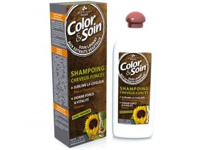 Shampoing cheveux colores fonces Les 3 Chenes 250 ml 3