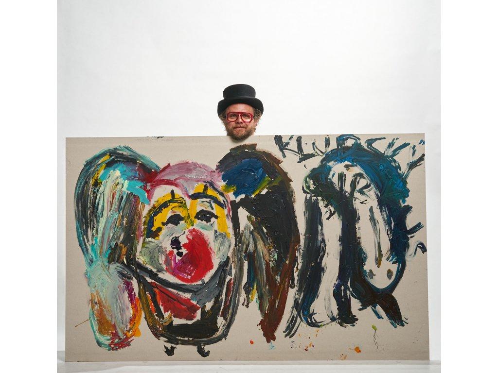 Umělec v izolaci: Principál principála - malba na sádrokarton
