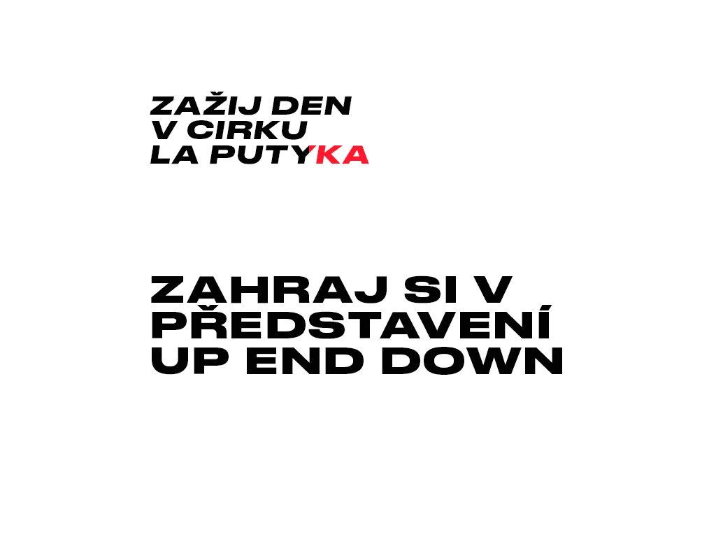 Zahraj si v představení UP END DOWN