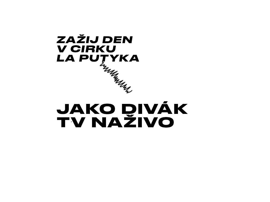 Divákem na natáčecí pro TV Naživo