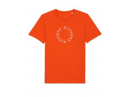 CLP Runners Tangerine Front