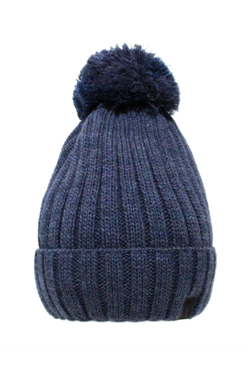 Dětská zimní čepice modrá