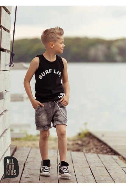 Chlapecké tílko Surf černé