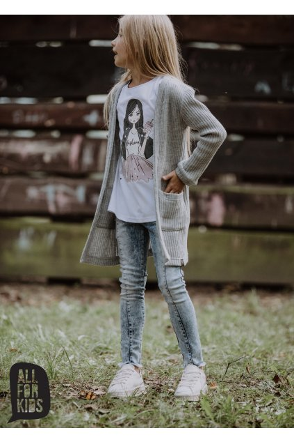 Dívčí džíny modré