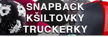 kšiltovka, snapback, truckerka, kšiltovka se síťkou