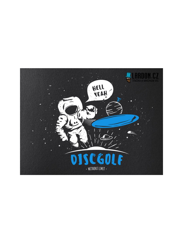 discgolf kosmonaut motiv