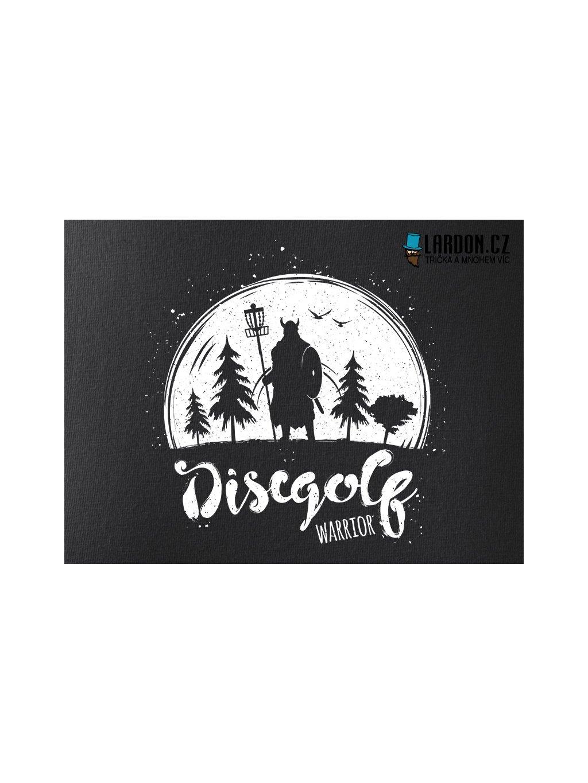 discgolf warrior motiv náhled