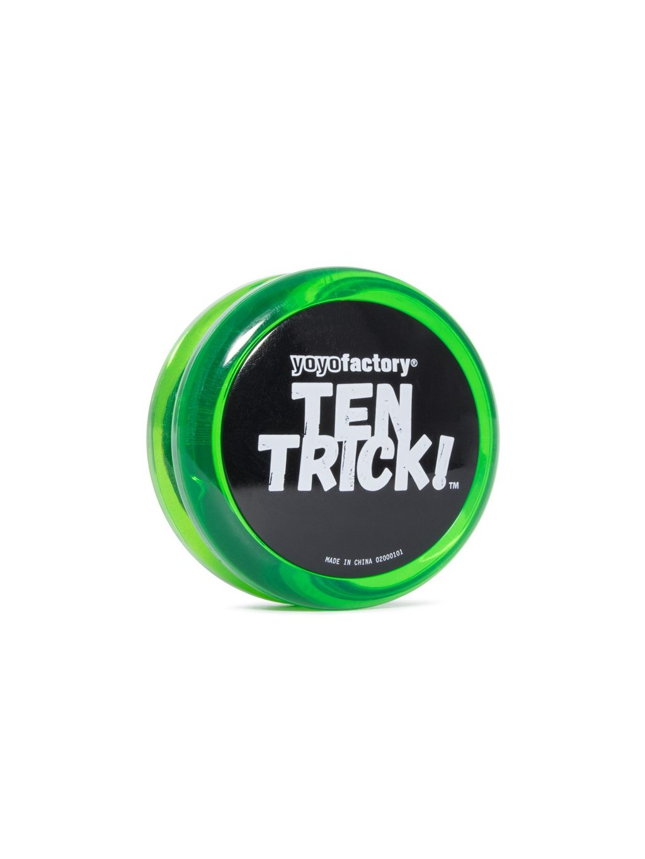 yoyofactory ten trick green
