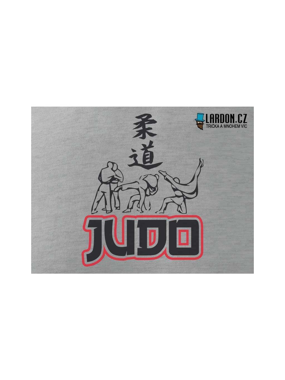 judo motiv tričko náhled