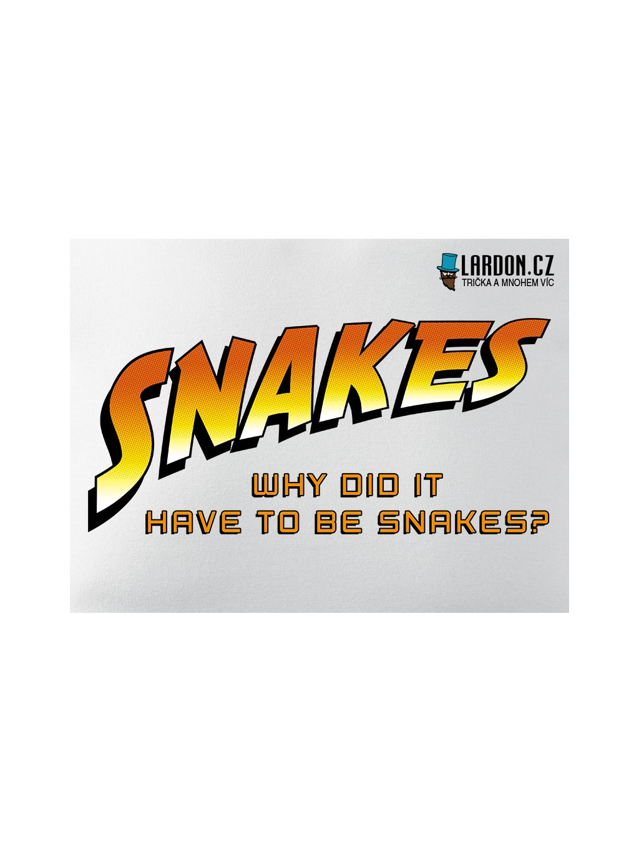 snakes indiana jones motiv náhled