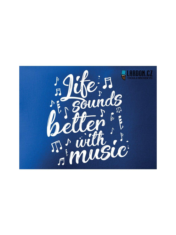 sound music life motiv náhled