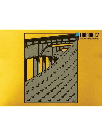 benešův most motiv tričko náhled
