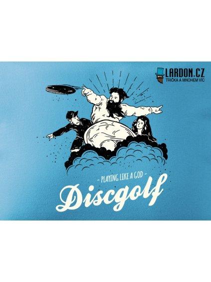 discgolf god motiv náhled